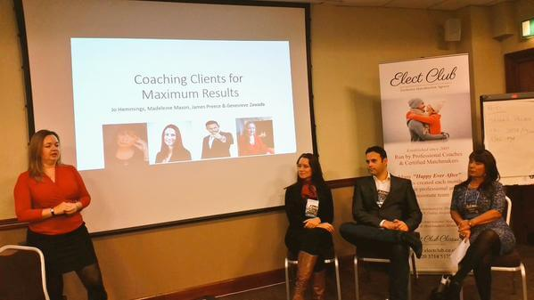 The Idate Dating Coaching Panel