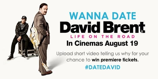 Win David Brent Premiere Tickets