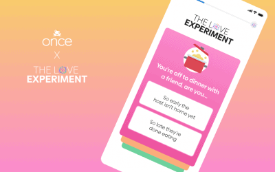 Dating App Once Launches the Love Experiment
